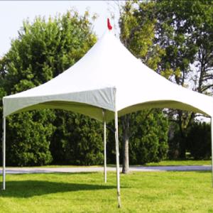 white pagoda tents