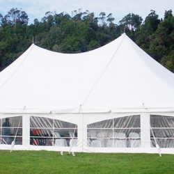 white peg and pole tents for sale