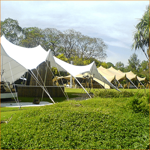 stretch tent sizes and accessories