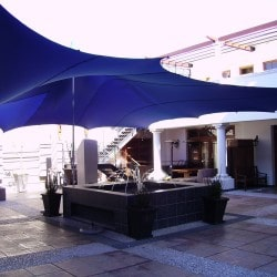 Blue stretch tents durban