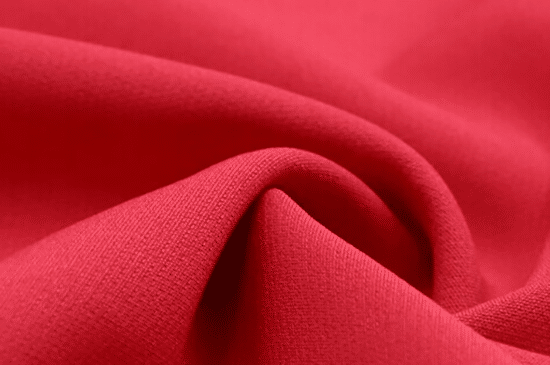 red fabric material