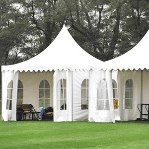double pagoda tents