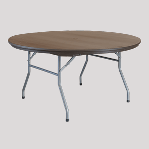 round plastic table