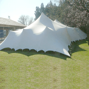 stretch tents 15m x 30m