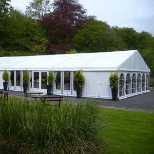 white frame tents 123